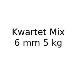 Kwartet Mix 6 mm 5 kg