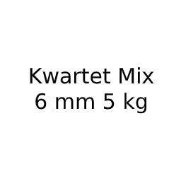Kwartet Mix 6 mm 5 kg