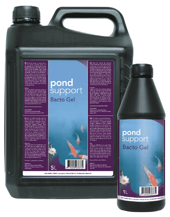 Pond Support Bacto Gel
