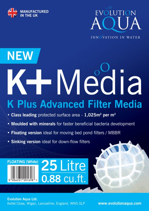 K+ Filter Media
