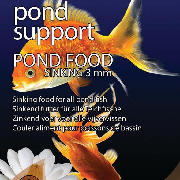Pond Support Pond Food Sinking 3 mm 1 liter
