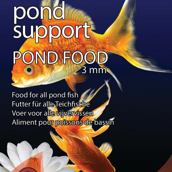Pond Support Pond Food 3 mm 1 liter